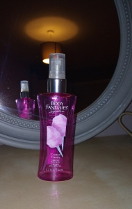 Body Fantasies cotton candy spray